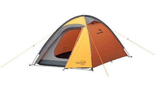 Easy Camp Meteor 200 Tente Mixte Adulte, Orange/Or, 2 Persons