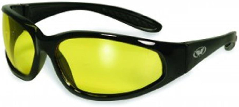 Global Vision Eyewear Hercules Safety Glasses, Yellow Tint Lens by Global Vision Eyewear