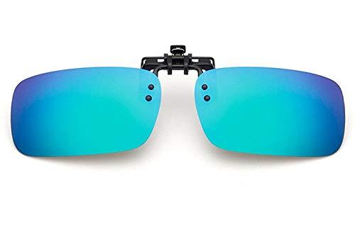 Gafas de Sol Gafas De Sol Polarizadas Clips Clips De Luz Gafas De Sol Conducción Al Aire Libre Pesca protección para los Ojos (Color : E)
