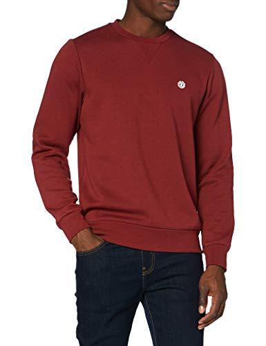 Element Cornell Classic CR Sweatshirt, Hombre, Port, S