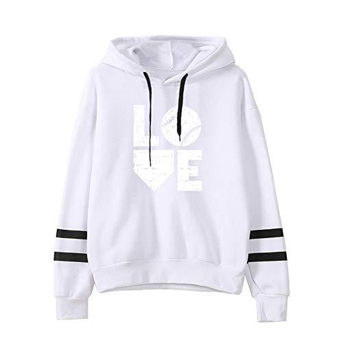 Hoodies for Women Long Sleeve Crew Neck Pullover Oversized Sweatshirts Girls Tops Winter Loose Hoode
