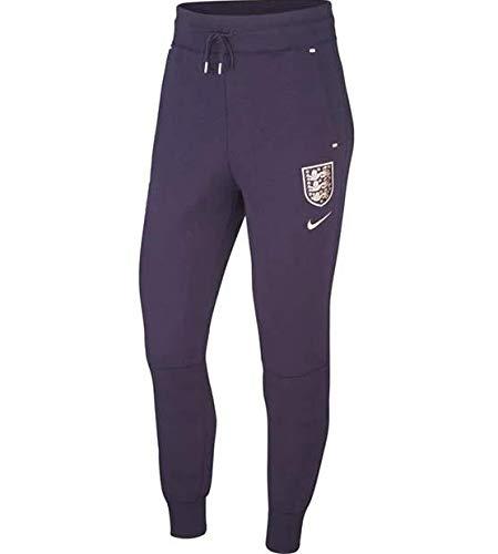 NILCO|#Nike ENT TCH Fleece AUT Pantaloni, Donna, Purple Dynasty/White/White/P48, L