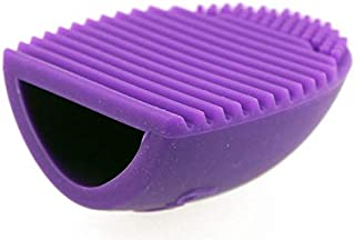 Make up for you Silicon Makeup Brush Cleaning Tool -Purple