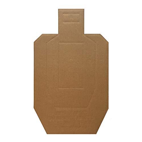 IPSC/USPSA Water Resistant Cardboard Target - 100 Pack