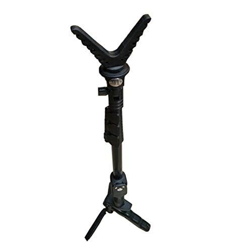 WQ-HUNTING, Accesorios de Caza para Exteriores Bipod para Rifle Disparador Stick Rack Disparos con V-Yoke Resto de Pistola Rack Trípode de cámara Universal