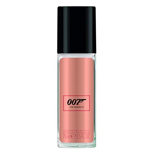 James Bond 007 For Women II – Deodorant Spray – Blumiges, orientalisches Damen Deo - langanhaltend und frisch – 1er Pack (1 x 75ml)