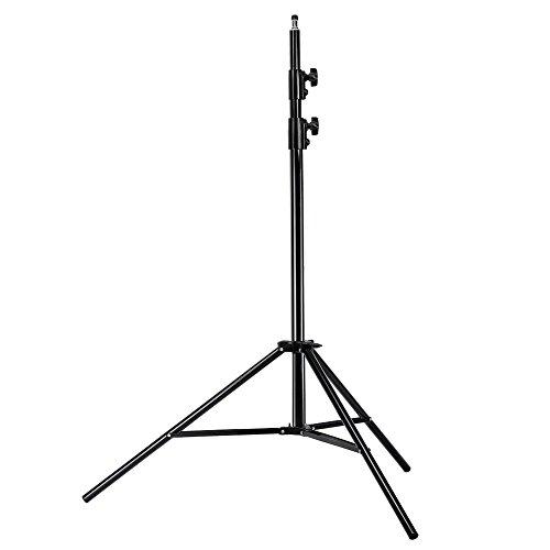 Neewer® PRO 9 Füße / 260cm Hochleistungs Aluminium-Legierung Fotografie Foto-Studio Lichtstativ für Video, Porträt und Fotografie Beleuchtung