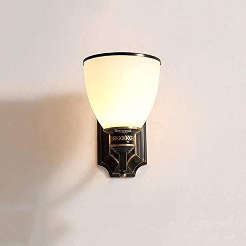 Lámpara De Pared Aplique De Pared Vintage Metal Industrial E27 Apliques De Pared Lámpara LED Con Pantallas De Hierro Negro Luces De Lavado De Pared Para Sala De Estar, Dormitorios Focos De Pared De No