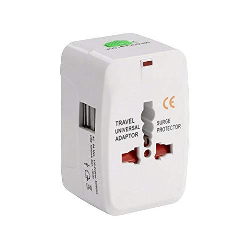 Dream-cool Universal International Travel Power Adapter, Eingebauter Überspannungsschutz All-in-One-Steckdosenadapter Für GB, EU, UK, USA, AU