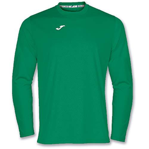 Joma Combi Camisetas Equip. M/L, Hombre, Verde