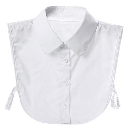 Women Detachable Dickey Collar Blouse Choker Half Shirts False Collar