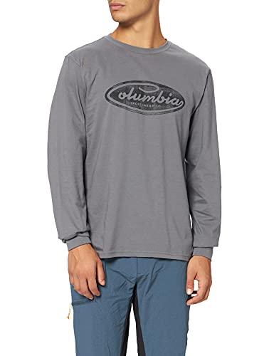 Columbia Brighton Woods Camisa estampada de manga larga para hombre