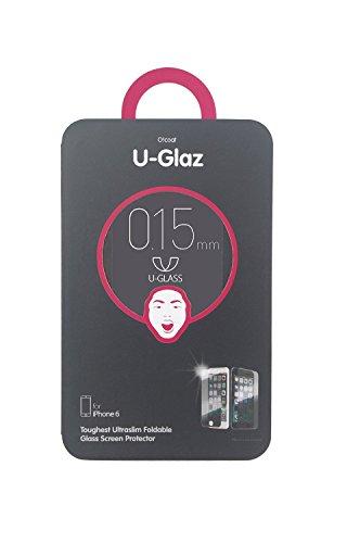 Ozaki OC584GS U-Glaz extrem stabile, Premium Displayschutzfolie aus gehärtetem Glas für Apple iPhone 6 Plus / 6S Plus