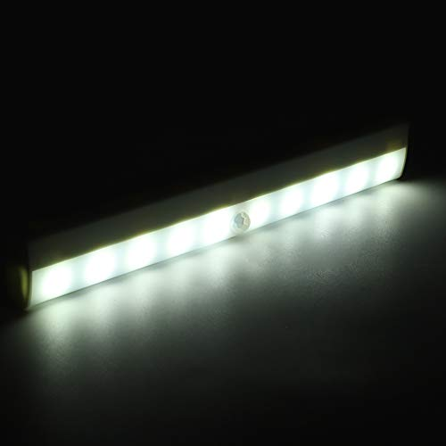 Gedourain Luz de inducción, luz de Armario de 3-5 m de Distancia de inducción para escaleras, cajones, cocinas, dormitorios, armarios, talleres