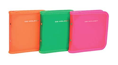 Porta Cd 12Pag/24Cd Pink