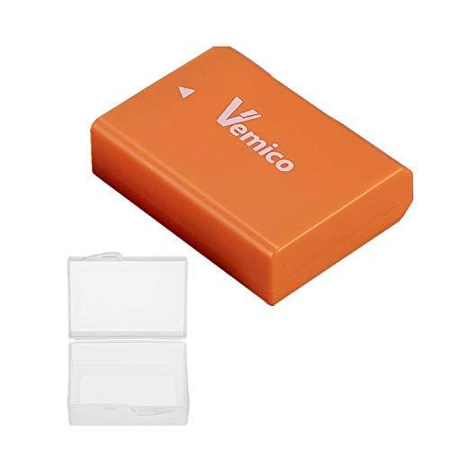 Vemico EN-EL14/EN-EL14Aバッテリー 大容量1500mAh D5600/D3300/ D3500/ D5100 /D5500/ D3100/ D3200/ D5200/ D5300/ Coolpix P7000/ P7100 /P7200 /P7700 /P7800など対応