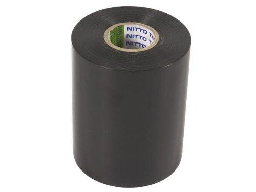 NITTO - 1049-N Isolierband, 100 mm x 20 m Abmessungen, Schwarz 138777
