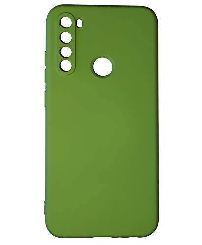 Capinha Xiaomi Redmi Note 8 Aveludada por dentro (Verde musgo)