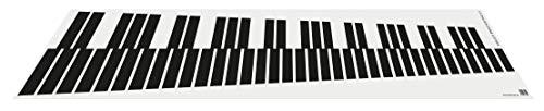 Mallet Practice Pad 5.0 • Übematte für Marimba, Vibraphone, Xylophone • Umfang: 5 Oktaven • Zum Üben und Einspielen • Wird einfach auf Tisch oder Boden ausgerollt • Lieferung ohne Schlägel