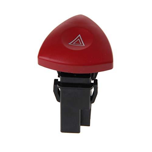 LiCHANGZHU LCBIAO Peligro de Emergencia Flasher Advertencia Interruptor de luz Fit para Renault Fit para Laguna Master Trafic II Fit para Vauxhall para Accesorios para automóviles
