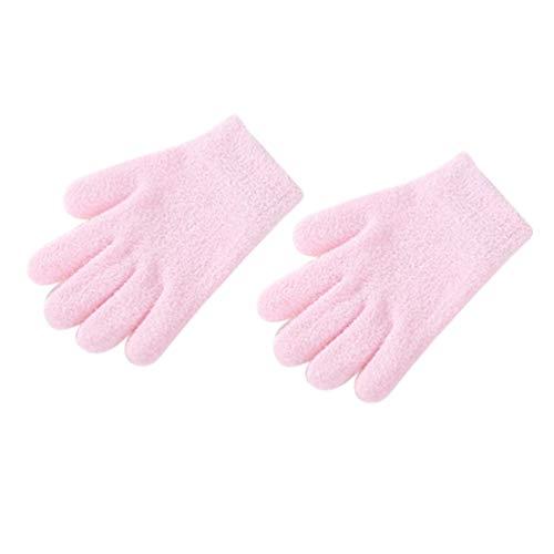 Healifty 1 paire de gants hydratants gel spa soin des mains gant huiles essentielles vitamines pour mains sèches et gercées