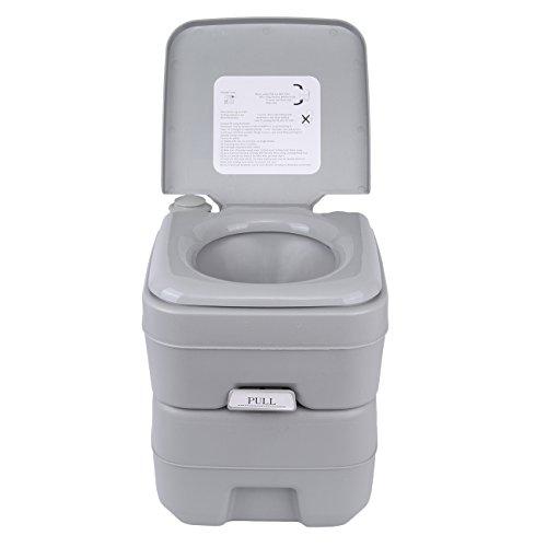 Ridgeyard camping WC 20 l Deluxe Travel portable WC para autocaravana Caravan