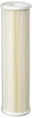Pentek - 255482-43 ECP5-10 Pleated Cellulose Polyester Filter Cartridge, 9-3/4