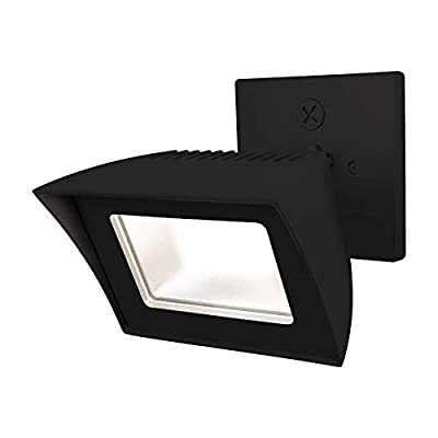 WAC Lighting WP-LED335-30-aBK Endurance Energy Star LED Flood Outdoor Wall, Architectural Black