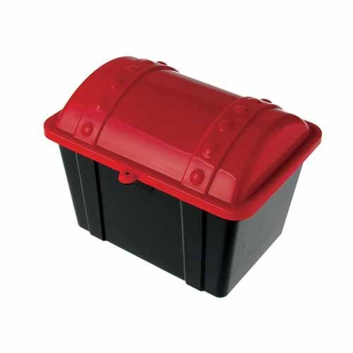 Read About DollarItemDirect Treasure Chest Red-Black, Sold by 6 Pieces