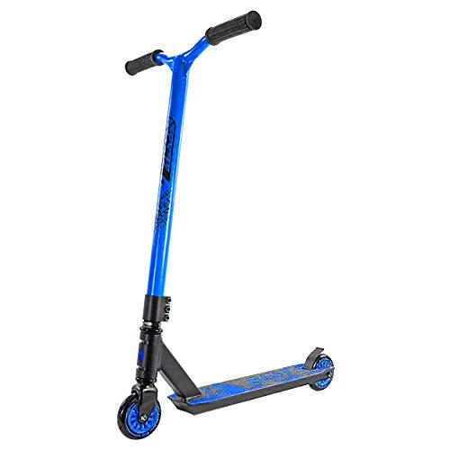 Best Sporting Stunt Scooter 100, Freestyle Tretroller (schwarz/blau)