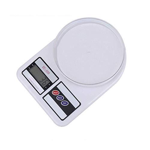 Báscula Digital para Alimentos, Báscula Digital portátil Básculas electrónicas LED Balanza de Alimentos Medición del Peso de la Cocina (Tamaño: 7 kg / 1 g)