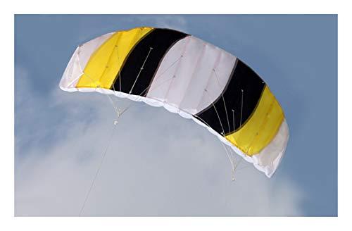 XIBEI Beach Kite, Easy to Fly Dual Line Stunt Kite,Sports Beach Kite for Beginner,Adults Older Kids Beach Summer Stunt Power Kites Flying Wing Outside Toys Sport Games(55X23 inch)