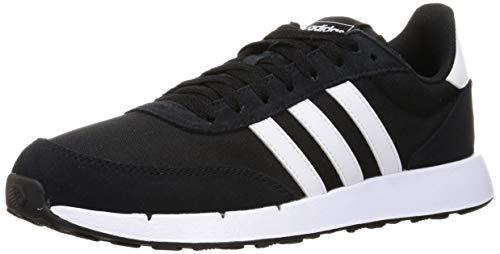 adidas Run 60s 2.0, Zapatillas de Running Hombre, NEGBÁS/FTWBLA/NEGBÁS, 43 1/3 EU