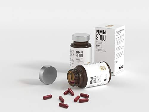 LONIX NMN + RSV with Vegan Capsules, Nicotinamide Mononucleotide 300mg + Resveratrol 50mg Per Serving, NAD+ Precursor