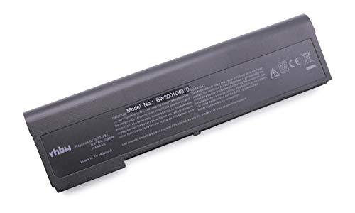 vhbw Akku schwarz passend für HP EliteBook 2170p Laptop, Notebook (4400mAh, 11.1V, Li-Ion)