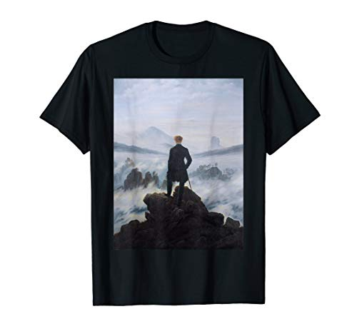 Casper David Friedrich's Wanderer Above the Sea of Fog T-Shirt