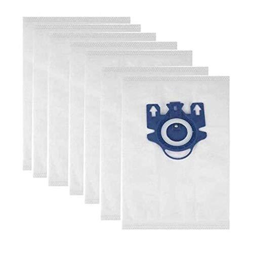 QIBIN 20 piezas de aspiradora bolsas de basura GN 3D Efficiency bolsa de repuesto y compatible con aspiradoras Miele