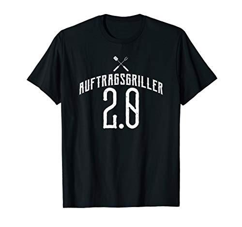 Auftragsgriller 2.0, Grillen, Party, Chef vom Grill T-Shirt