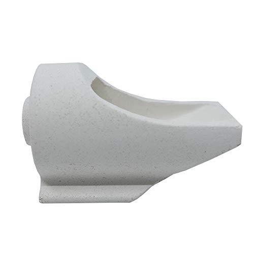 Kerr Ceramic Crucible Dimensions 46mm x 96mm x 67mm (Neycraft)