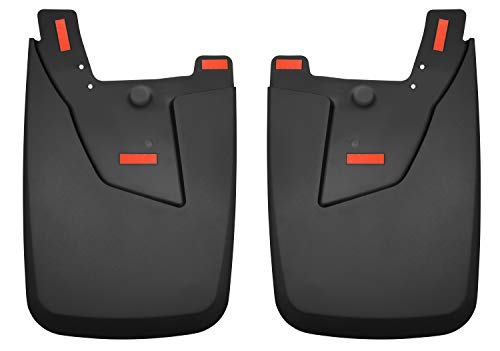 Husky Liners 59051 Fits 2019-20 Dodge Ram 2500/3500 with OE Fender Flares (not Power Wagon) Custom Rear Mud Guards