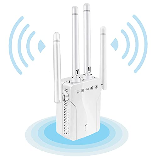 2021 WiFi Extender - WiFi Repeater, WiFi Booster Covers Up to 2500 Sq.ft and 30...