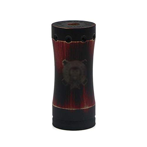 Marstech Takeover Mini 18350 25mm Mechanical Mod Batterie Box Mod Hülle Akkuträger für e - zigarette (Black Red)
