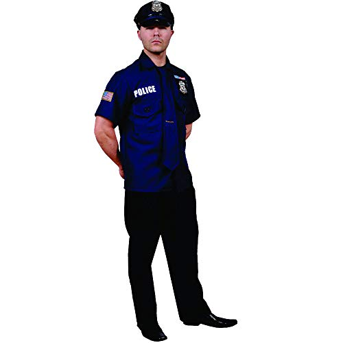 Dress Up America 719.0 Adult Polizist Kostüm, Einheitsgröße