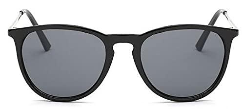 Gafas De Sol Gafas De Sol Clásicas Mujeres Hombres Retro Al Aire Libre Conducción Gafas De Sol Espejo Hombre Mujer Gafas Sombra Uv400 Negro