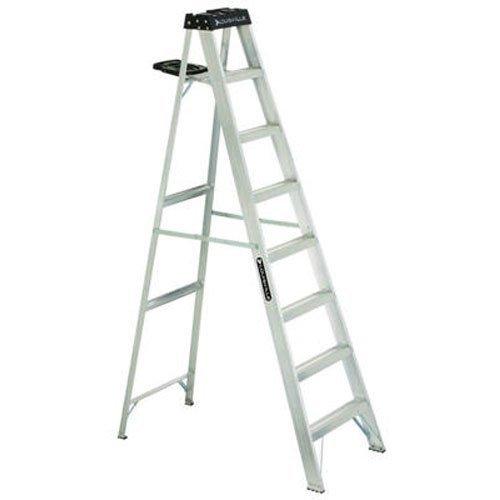 Louisville Ladder AS3008 Aluminum 8-Foot Ladder...