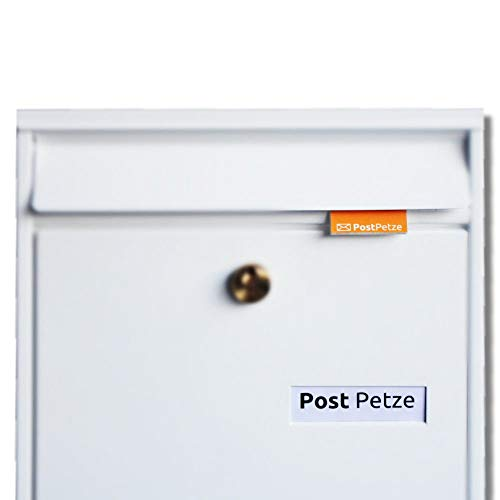 PostPetze - Dein analoger Postmelder. Öffne Deinen Briefkasten nie mehr umsonst. (gold)