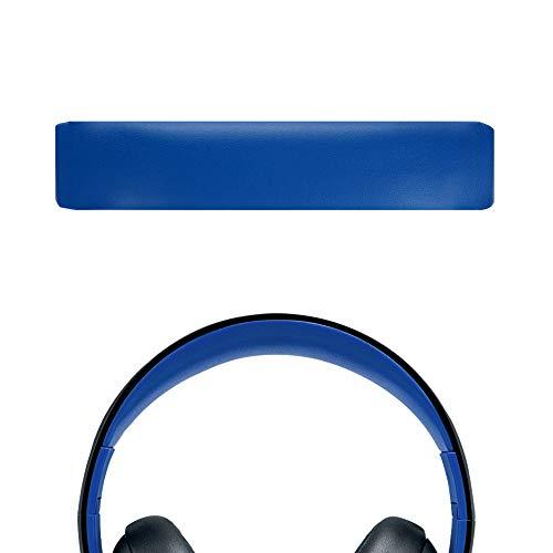 Geekria Protein-Leder-Kopfband-Pad Ersatz für PlayStation Gold Wireless Stereo Headset PS3 PS4 Playstation 4 CECHYA-0083 Kopfband/Kopfbandkissen/Ersatz-Pad Reparaturteile (blau)