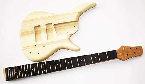 Body und Neck, Gitarrenkörper Gitarrenhals für E-Bass SRB5