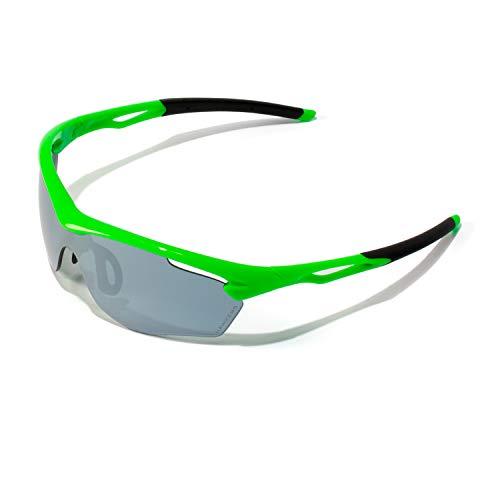 HAWKERS · TRAINING · Lime Chrome · Gafas de sol para hombre y mujer