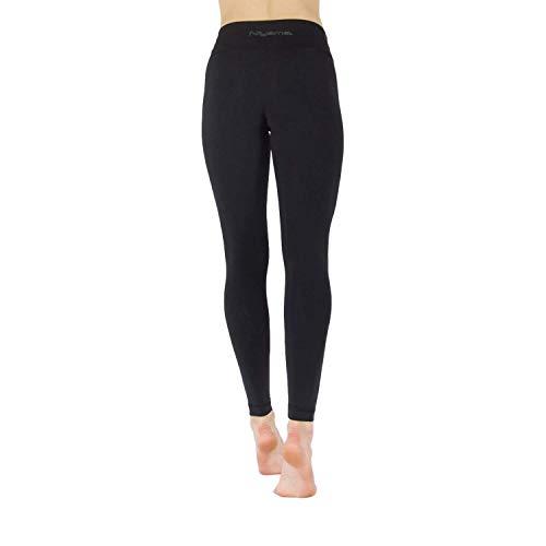 Niyama Hochwertige Yogahosen Frauen, aus 100% Recycletem Stoff - Haltbar und Strapazierfähige Womens Leggings für Yoga, Pilates und Fitness. (XS, High Waist)